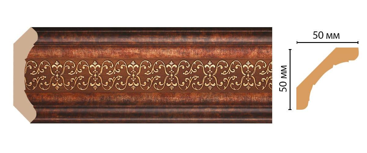 167-767 Плинтус (2400 × 50 × 50 )