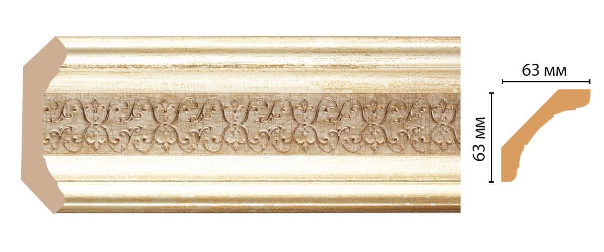 168-281 Плинтус (2400 × 62 × 62 )
