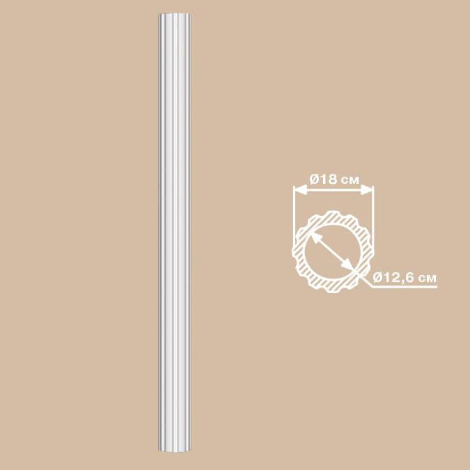 90018/1 колонна DECOMASTER-2 (D 180х2400мм)
