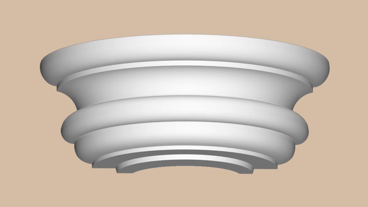 90030-3-H Полукапитель (490 × 245 × 195 )