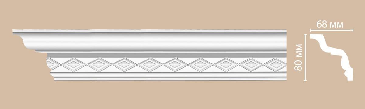 95825 Плинтус (2400 × 80 × 68 )