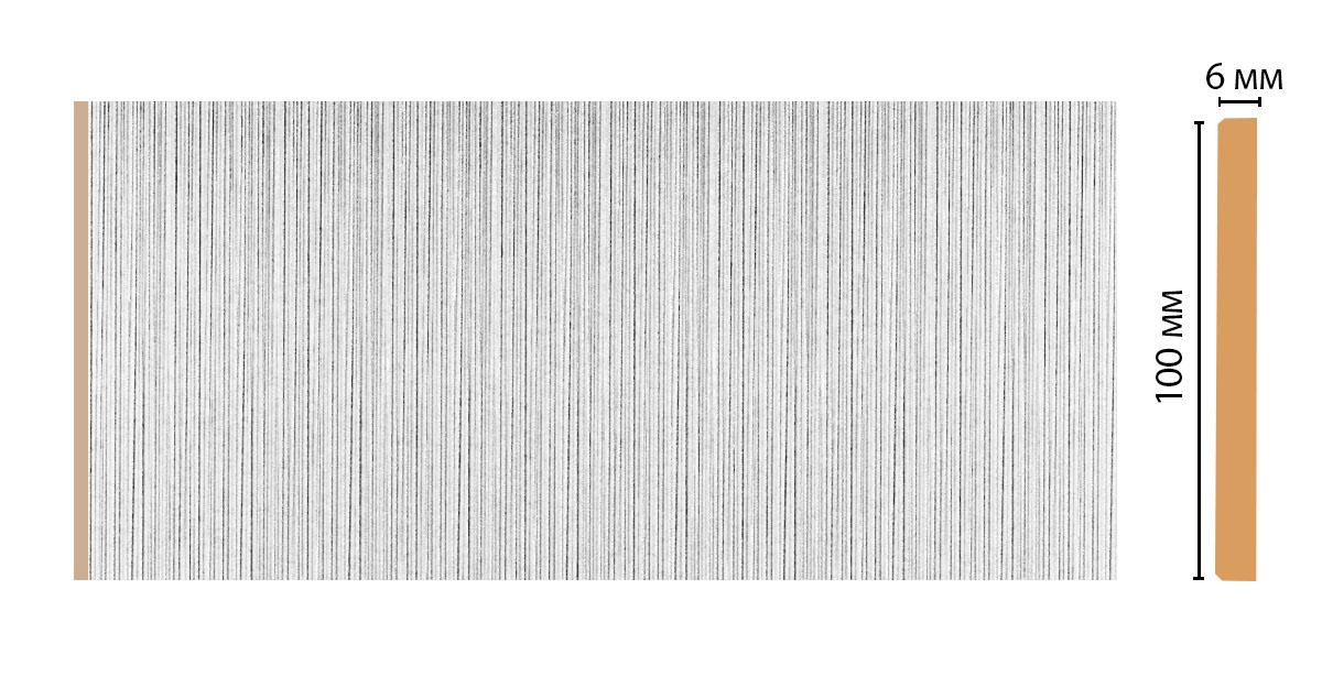 G10-19/30 Панель ВЫВЕДЕН (100*6*2400 мм)