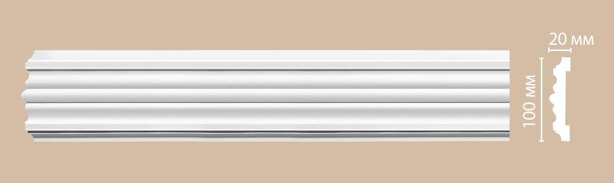 97902F Гибкий молдинг (2300 × 100 × 20 )