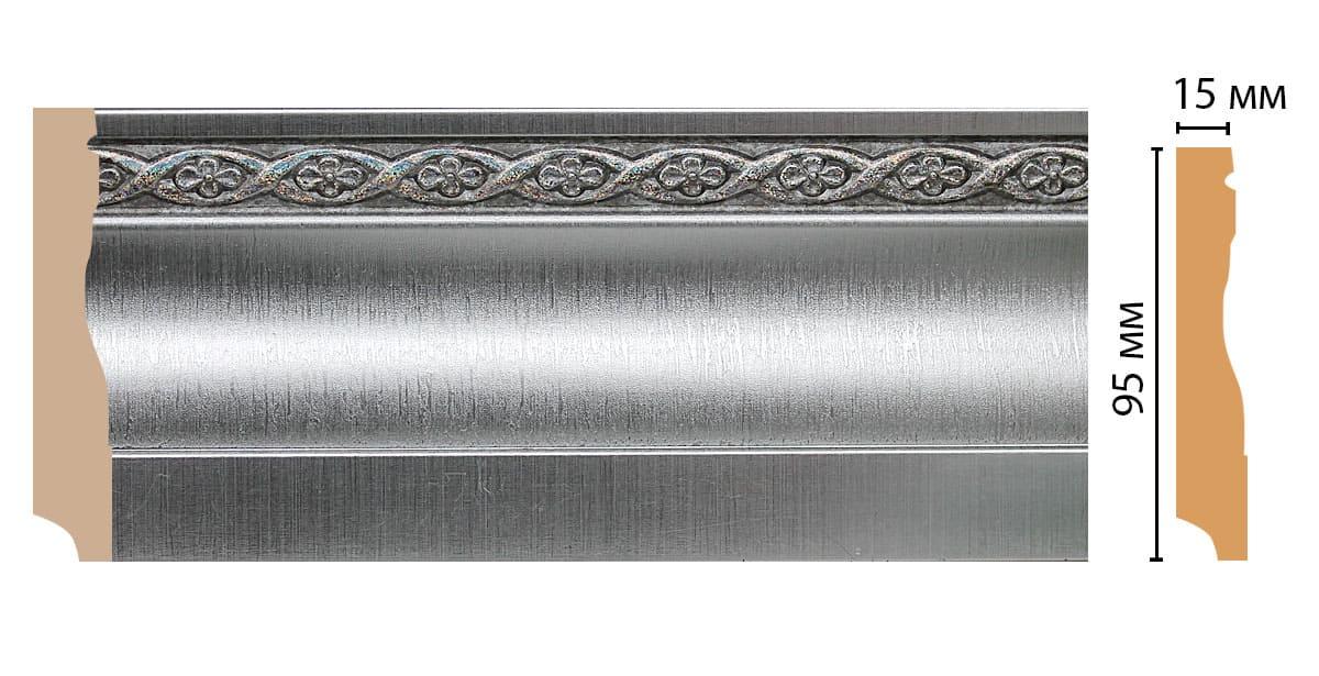 153-55 Плинтус напольный (2400 × 95 × 12 )