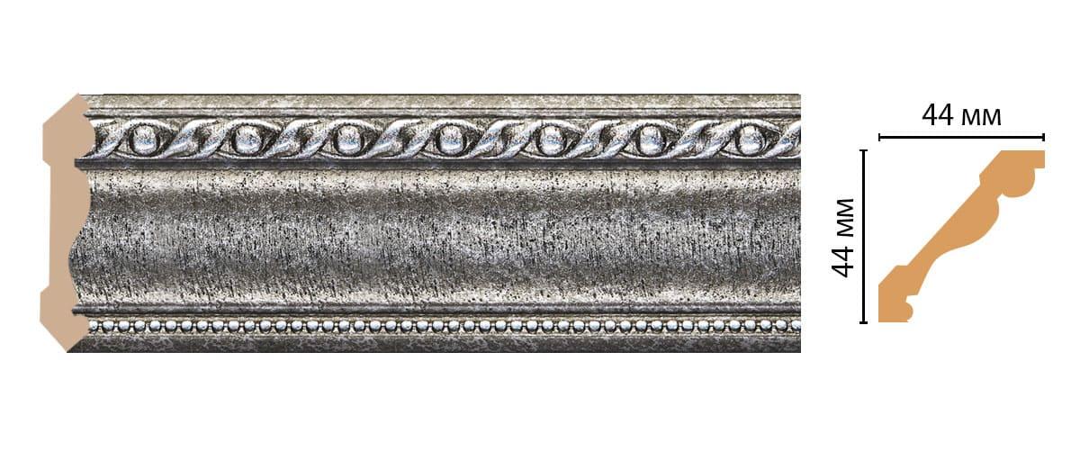 124-44 Плинтус (2400 × 44 × 44 )