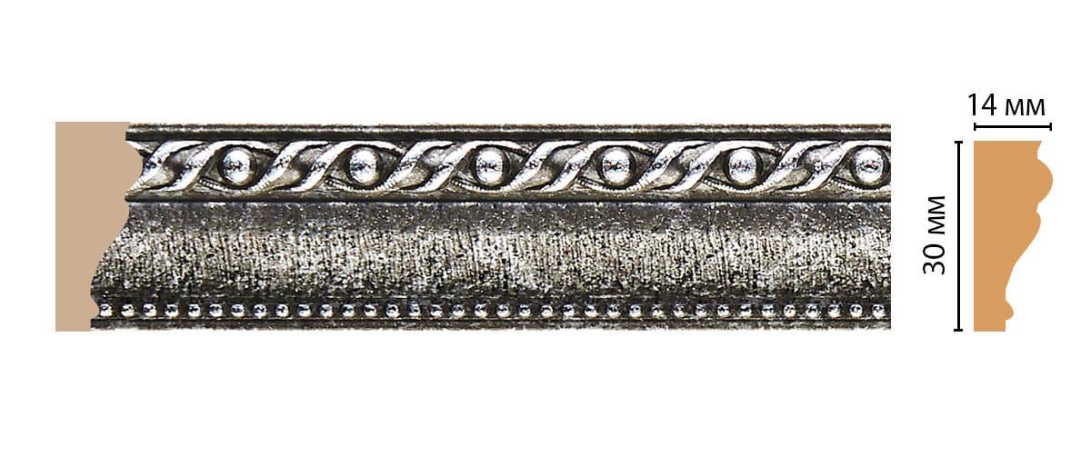 125-44 Молдинг (2400 × 30 × 14 )