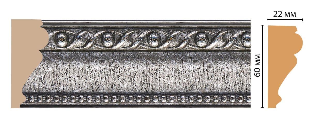 161-44 Молдинг (2400 × 60 × 22 )