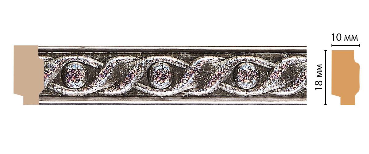 158-44 Молдинг (2400 × 18 × 10 )