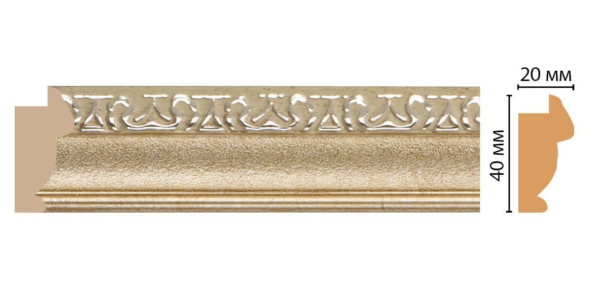 807-59 Молдинг (2900 × 40 × 20 )