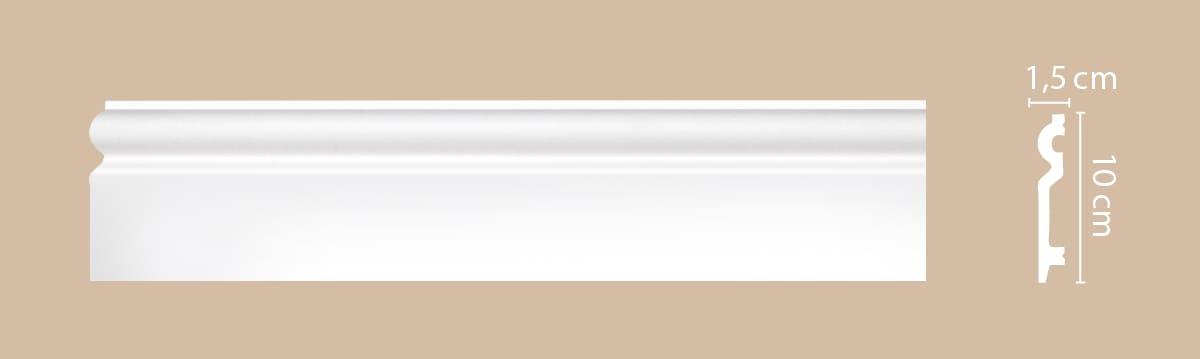 A137/26 Плинтус напольный (100*15*2000) СНЯТ С ПРОИЗВОДСТВА