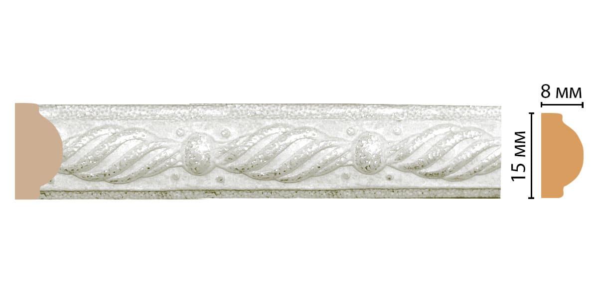130-20 ДМ Молдинг (2400 × 15 × 8 )