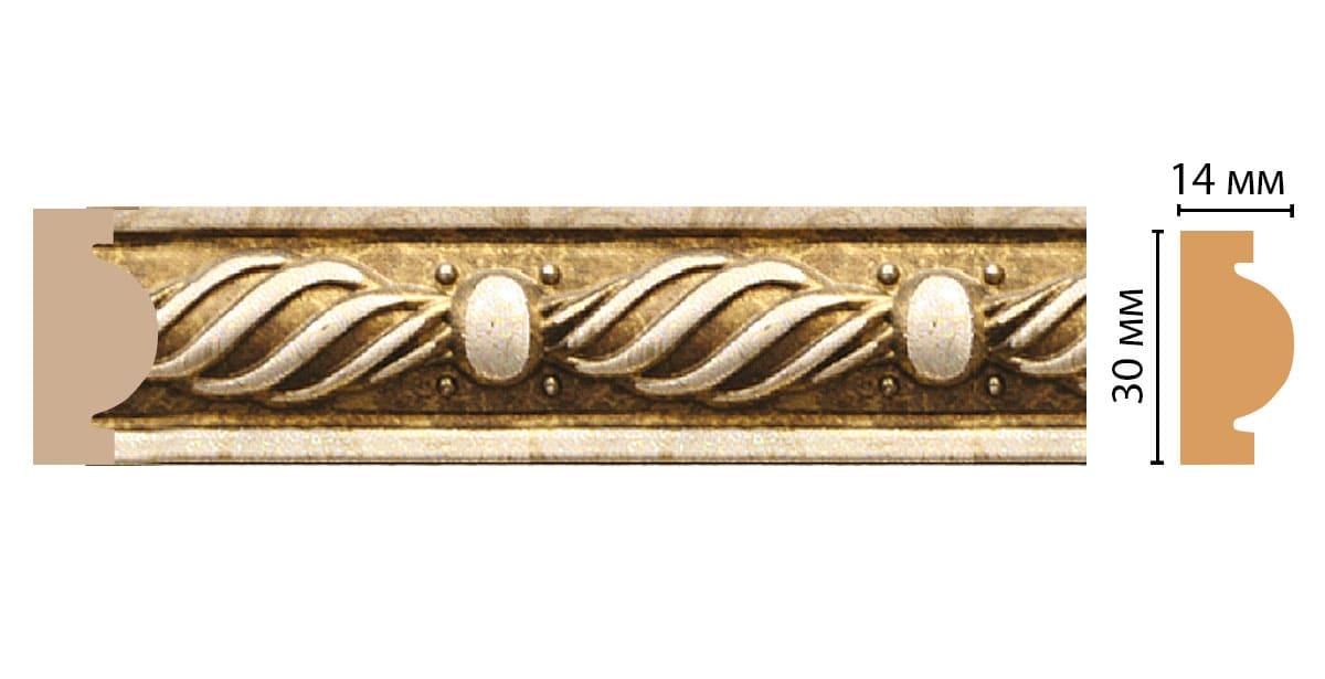 157-17 ДМ Молдинг (2400 × 30 × 14 )