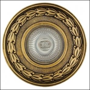удалить SV 7049 AB Декоративный гипсовый светильник (108х108х20)