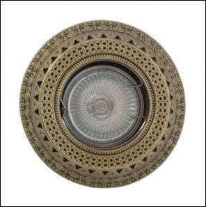 удалить SV 7055 AB Декоративный гипсовый светильник (100х100х28)