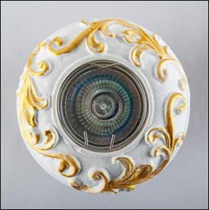 SV 7102 Гипсовый светильник (98 × 98 × 20 )