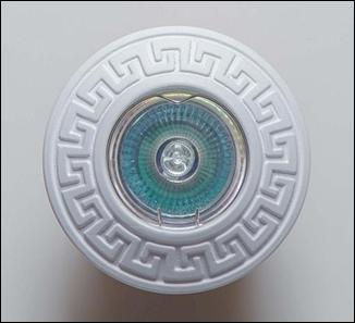 SV 7086 Гипсовый светильник (96 × 96 × 20 )