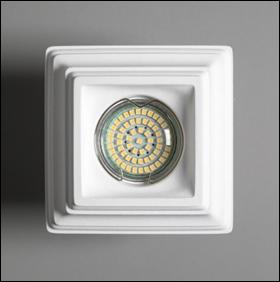SV 7156 Гипсовый светильник (110 × 110 × 40 )