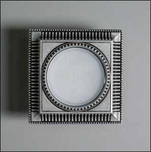 SV 7622 Гипсовый светильник (130 × 130 × 30 )