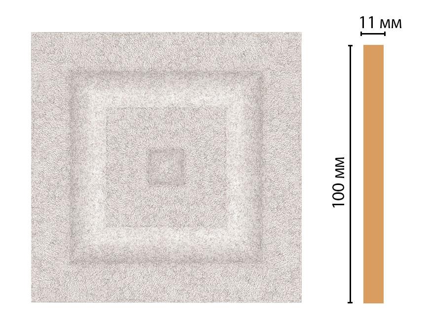 D205-19D Вставка (100 × 100 × 11 )
