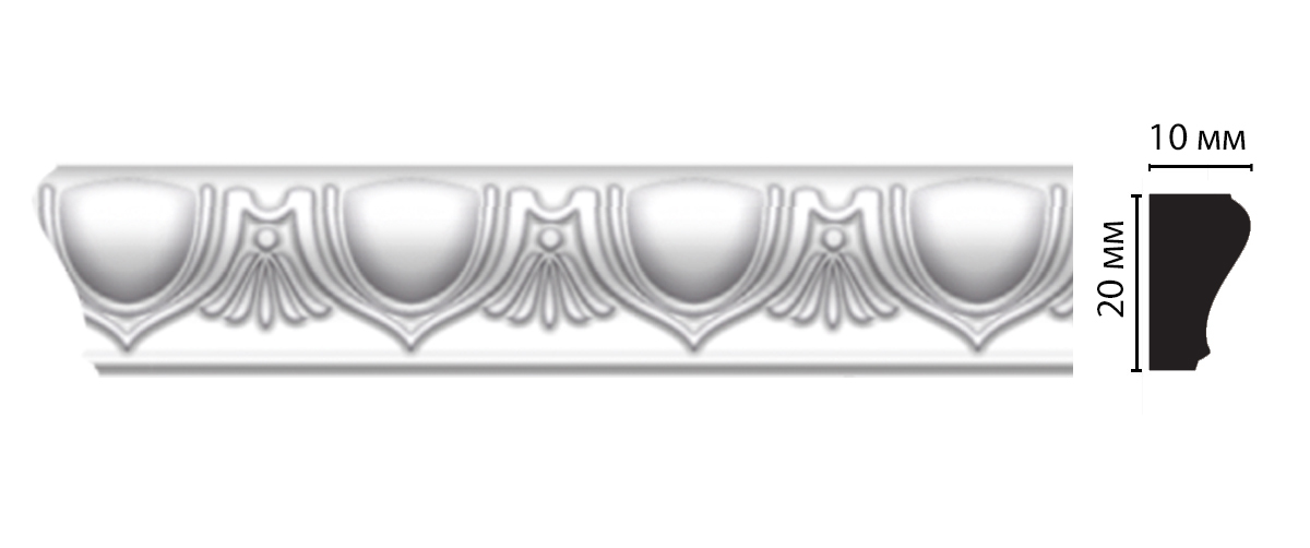 D103A ДМ Молдинг (2000 × 20 × 10 )
