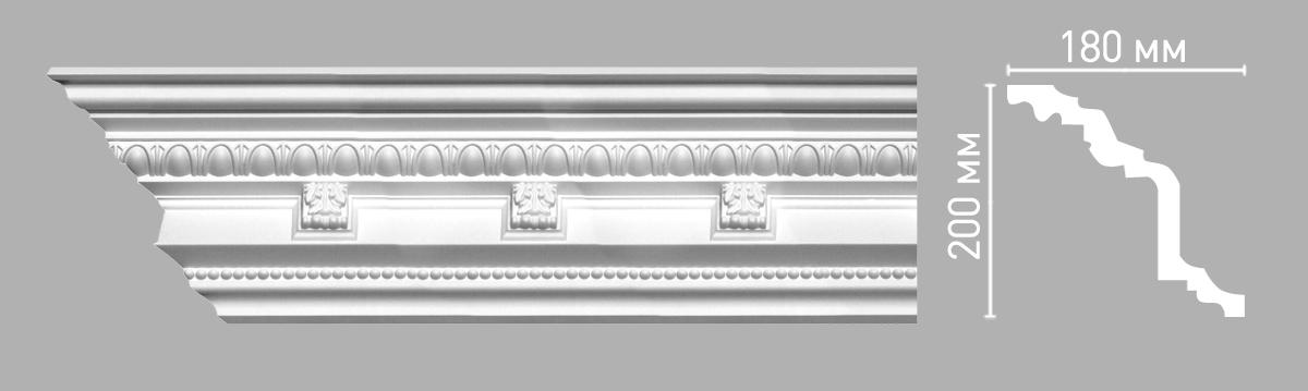 95144 Плинтус (2400 × 180 × 200 )