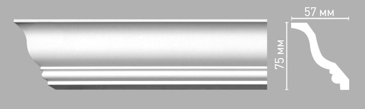 96211 Плинтус (2400 × 57 × 75 )